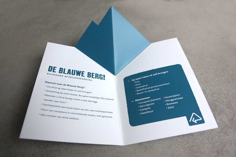 Direct mailing De Blauwe Berg